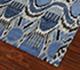 Jaipur Rugs - Hand Knotted Wool Blue LCA-09 Area Rug Floorshot - RUG1054937