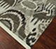 Jaipur Rugs - Hand Knotted Wool Grey and Black LCA-09 Area Rug Floorshot - RUG1063402