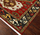 Jaipur Rugs - Hand Knotted Wool Red and Orange LCA-2351 Area Rug Floorshot - RUG1034037