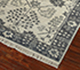 Jaipur Rugs - Hand Knotted Wool Grey and Black LCA-603 Area Rug Floorshot - RUG1055160