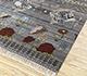 Jaipur Rugs - Hand Knotted Wool Grey and Black LE-48 Area Rug Floorshot - RUG1083958