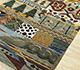 Jaipur Rugs - Hand Knotted Wool Green LE-61 Area Rug Floorshot - RUG1084895