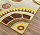 Jaipur Rugs - Hand Tufted Wool and Viscose Ivory LEQ-06 Area Rug Floorshot - RUG1081331