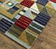 Jaipur Rugs - Hand Tufted Wool and Viscose Blue LEQ-16 Area Rug Floorshot - RUG1083413