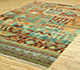 Jaipur Rugs - Hand Knotted Wool and Bamboo Silk Beige and Brown LES-233 Area Rug Floorshot - RUG1077899