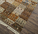 Jaipur Rugs - Hand Knotted Wool and Bamboo Silk Grey and Black LES-239 Area Rug Floorshot - RUG1080095