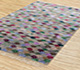 Jaipur Rugs - Hand Knotted Wool and Bamboo Silk Grey and Black LES-293 Area Rug Floorshot - RUG1083996