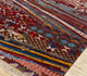 Jaipur Rugs - Hand Knotted Wool and Bamboo Silk Red and Orange LES-304 Area Rug Floorshot - RUG1084603