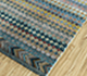 Jaipur Rugs - Hand Knotted Wool and Bamboo Silk Blue LES-413 Area Rug Floorshot - RUG1093551