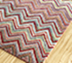 Jaipur Rugs - Hand Knotted Wool and Bamboo Silk Pink and Purple LES-427 Area Rug Floorshot - RUG1093556