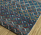 Jaipur Rugs - Hand Knotted Wool and Bamboo Silk Blue LES-471 Area Rug Floorshot - RUG1093211