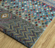 Jaipur Rugs - Hand Knotted Wool and Bamboo Silk Blue LES-473 Area Rug Floorshot - RUG1093213