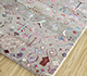 Jaipur Rugs - Hand Knotted Wool and Bamboo Silk Ivory LES-477 Area Rug Floorshot - RUG1093562