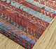 Jaipur Rugs - Hand Knotted Wool and Bamboo Silk Beige and Brown LES-479 Area Rug Floorshot - RUG1093564