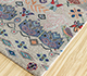 Jaipur Rugs - Hand Knotted Wool and Bamboo Silk Grey and Black LES-487 Area Rug Floorshot - RUG1093559
