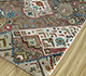 Jaipur Rugs - Hand Knotted Wool and Bamboo Silk Ivory LES-489 Area Rug Floorshot - RUG1093561