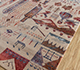 Jaipur Rugs - Hand Knotted Wool and Bamboo Silk Beige and Brown LES-741 Area Rug Floorshot - RUG1108566
