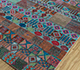 Jaipur Rugs - Hand Knotted Wool and Bamboo Silk Blue LES-755 Area Rug Floorshot - RUG1110859