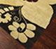 Jaipur Rugs - Hand Tufted Wool Beige and Brown LET-1038 Area Rug Floorshot - RUG1063906