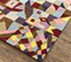 Jaipur Rugs - Hand Tufted Wool Red and Orange LET-1568 Area Rug Floorshot - RUG1081536
