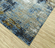 Jaipur Rugs - Hand Knotted Wool and Bamboo Silk Grey and Black LRB-1550 Area Rug Floorshot - RUG1085336