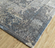 Jaipur Rugs - Hand Knotted Wool and Silk Grey and Black LRS-15 Area Rug Floorshot - RUG1095960