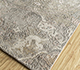Jaipur Rugs - Hand Knotted Wool and Silk Grey and Black LRS-16 Area Rug Floorshot - RUG1090088