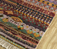Jaipur Rugs - Hand Knotted Silk Grey and Black LSL-305 Area Rug Floorshot - RUG1092460