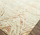 Jaipur Rugs - Hand Knotted Wool and Bamboo Silk Ivory LU-9033 Area Rug Floorshot - RUG1080517