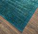 Jaipur Rugs - Hand Knotted Wool and Silk Blue NE-2348 Area Rug Floorshot - RUG1063440