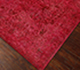 Jaipur Rugs - Hand Knotted Wool and Silk Red and Orange NE-2349 Area Rug Floorshot - RUG1056697