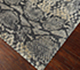 Jaipur Rugs - Hand Knotted Wool and Silk Grey and Black NMS-06 Area Rug Floorshot - RUG1072207