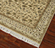 Jaipur Rugs - Hand Knotted Wool and Silk Gold NRA-05 Area Rug Floorshot - RUG1037458