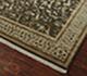 Jaipur Rugs - Hand Knotted Wool and Silk Beige and Brown NRA-05 Area Rug Floorshot - RUG1037480