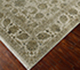 Jaipur Rugs - Hand Knotted Wool and Silk Ivory NRA-16 Area Rug Floorshot - RUG1025391