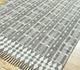 Jaipur Rugs - Flat Weave Cotton Grey and Black PDCT-130 Area Rug Floorshot - RUG1091624
