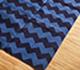 Jaipur Rugs - Flat Weaves Cotton Blue PDCT-63 Area Rug Floorshot - RUG1086708