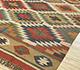Jaipur Rugs - Flat Weaves Jute Red and Orange PDJT-114 Area Rug Floorshot - RUG1107055