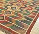 Jaipur Rugs - Flat Weave Jute Red and Orange PDJT-161 Area Rug Floorshot - RUG1107018