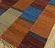 Jaipur Rugs - Flat Weave Wool Red and Orange PDWL-457 Area Rug Floorshot - RUG1098502