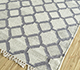 Jaipur Rugs - Flat Weave Wool and Viscose Ivory PDWV-65 Area Rug Floorshot - RUG1098526