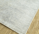 Jaipur Rugs - Hand Loom Viscose Blue PHPV-131 Area Rug Floorshot - RUG1098603