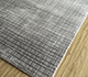 Jaipur Rugs - Hand Loom Wool and Tensilk Grey and Black PHWT-02 Area Rug Floorshot - RUG1098232