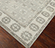 Jaipur Rugs - Hand Knotted Wool Grey and Black PKWL-5101 Area Rug Floorshot - RUG1058085