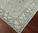 Jaipur Rugs - Hand Knotted Wool Grey and Black PKWL-6202 Area Rug Floorshot - RUG1049632