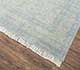 Jaipur Rugs - Hand Knotted Wool and Silk Grey and Black PKWS-05 Area Rug Floorshot - RUG1065909