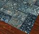 Jaipur Rugs - Patchwork Wool and Silk Blue PSK-952 Area Rug Floorshot - RUG1017548