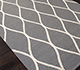 Jaipur Rugs - Hand Tufted Wool Grey and Black PTWL-76 Area Rug Floorshot - RUG1059465