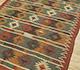 Jaipur Rugs - Flat Weave Jute Red and Orange PX-2109 Area Rug Floorshot - RUG1091586