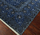 Jaipur Rugs - Hand Knotted Wool and Silk Blue QM-401 Area Rug Floorshot - RUG1097120